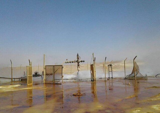 سوريا - حقول الغاز