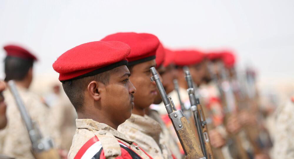 الشرطة اليمنية مأرب