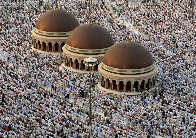 المسجد الحرام في مكة، السعودية