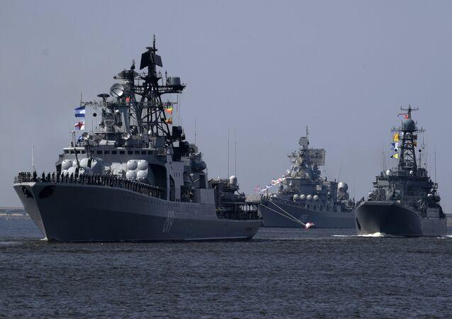 قطع بحرية روسية