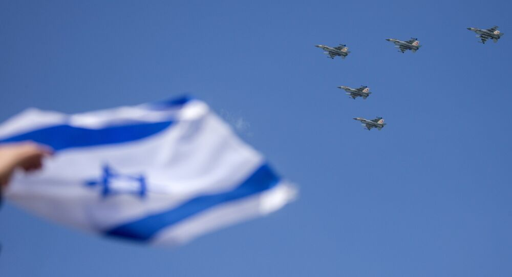 المقاتلات الإسرائيلية إف-16