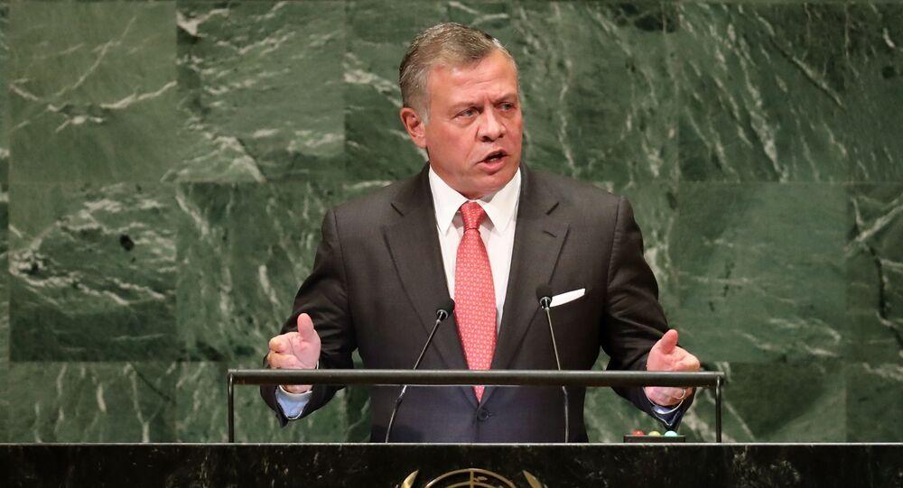 العاهل الأردني الملك عبد الله الثاني بن الحسين
