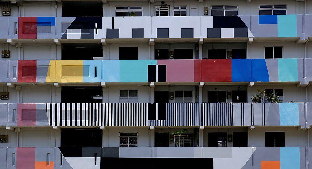 مبنى سكني عام في سنغافورة، 23 سبتمبر/ أيلول 2018