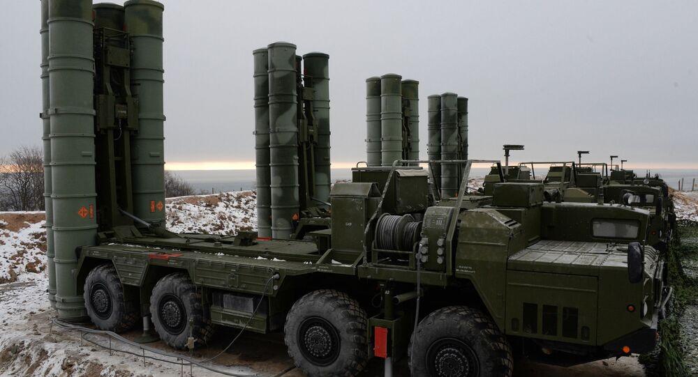 منظومات صواريخ مضادة للطيران إس-400