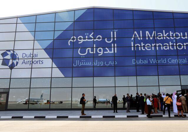 مطار آل مكتوم الدولي في دبي