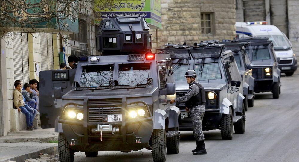 قوات الأمن الأردنية