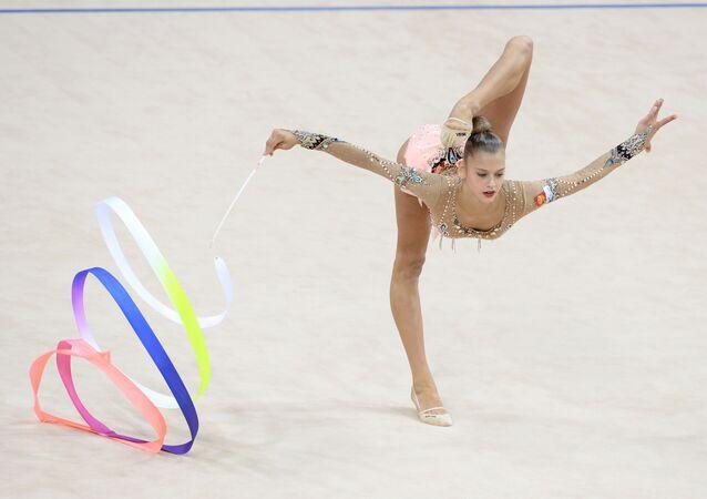 لاعبة الجمباز الروسية الكسندرا سولداتوفا