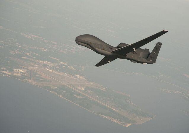 طائرة بدون طيار أمريكية RQ-4 Global Hawk