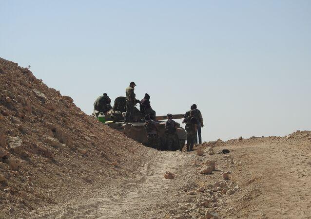 الجيش السوري على جبهات إدلب