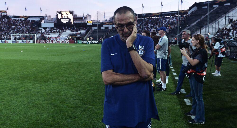 المدرب الإيطالي ماوريتسيو ساري