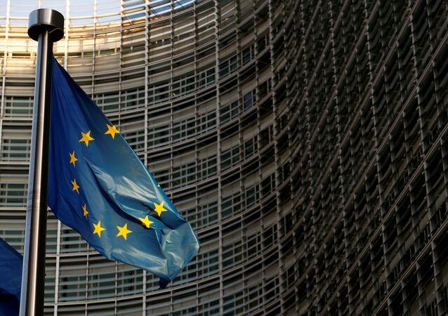 مبنى الاتحاد الأوروبي في العاصمة البلجيكية بروكسل