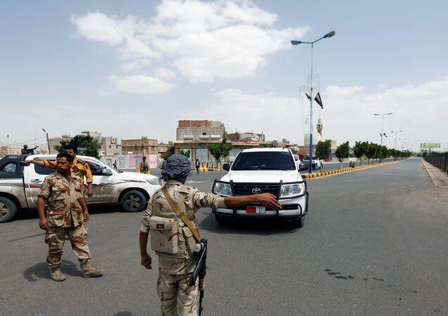 الجيش اليمني - القوات اليمنية في صنعاء، اليمن مايو/ أيار 2018