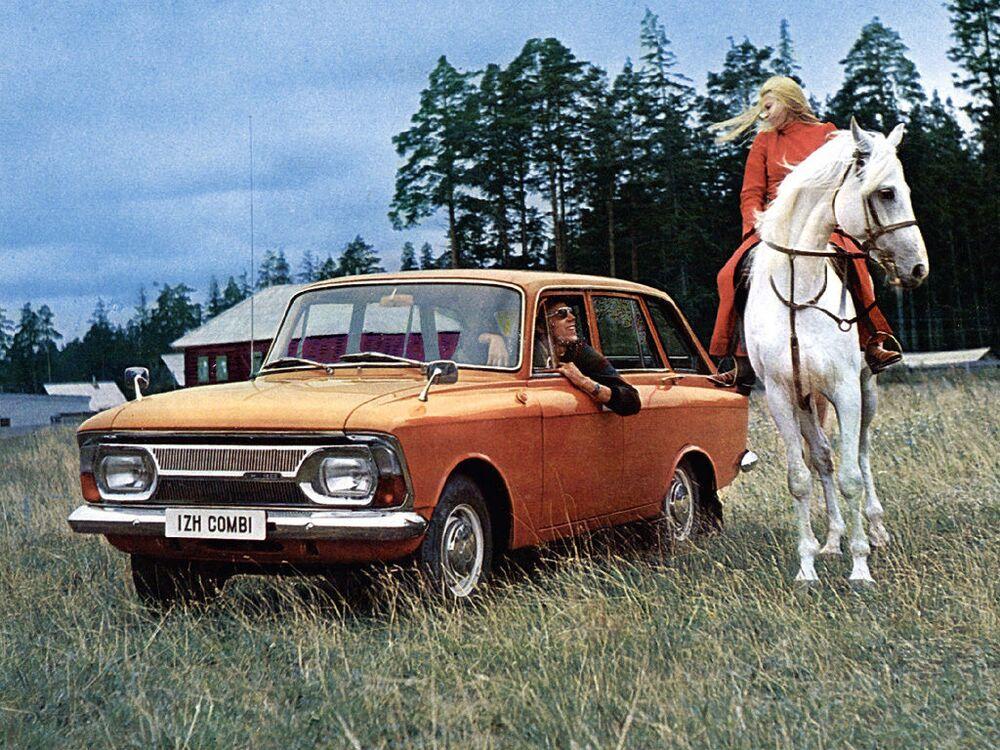 دعاية السيارة السوفيتية إج-2125