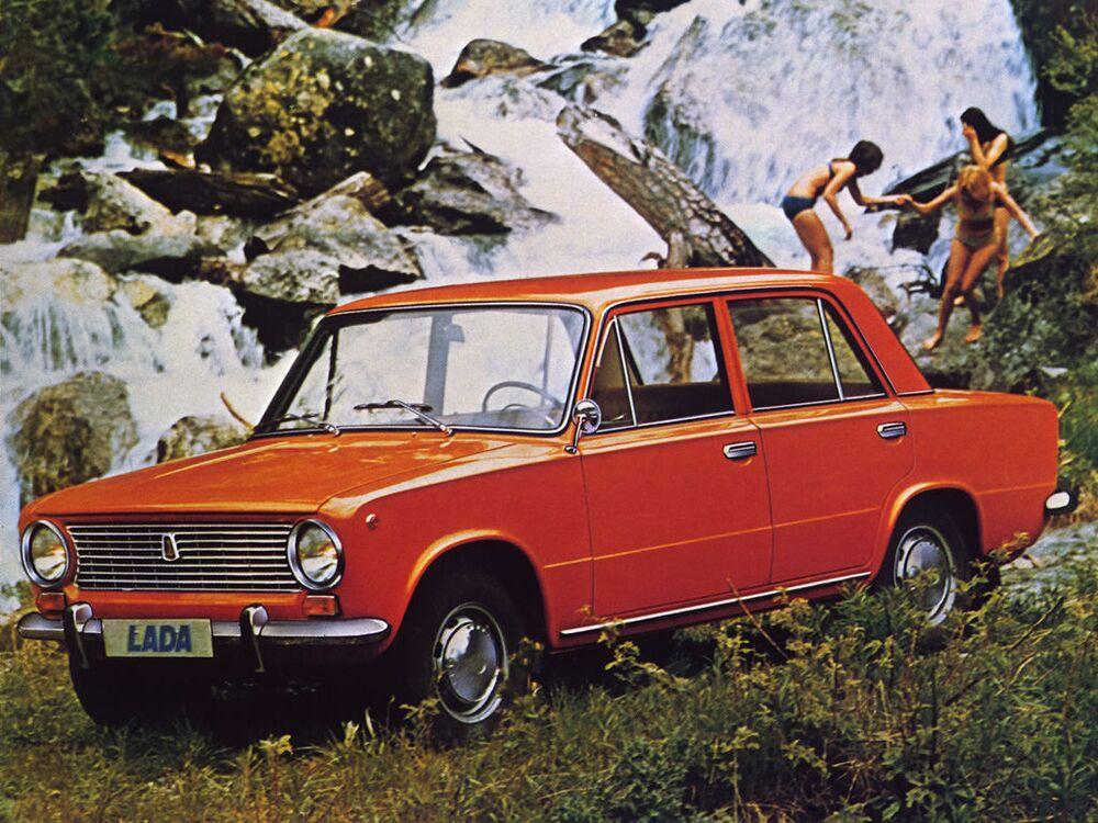 دعاية السيارة السوفيتية لادا 1200