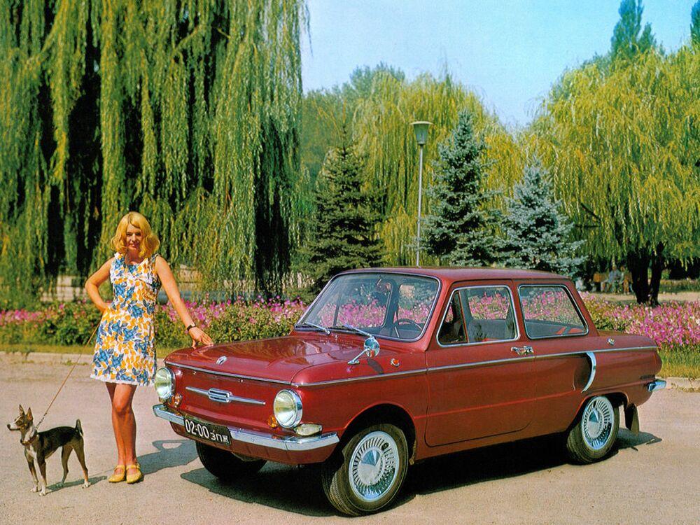 دعاية السيارة السوفيتية زاز-968 أ ي