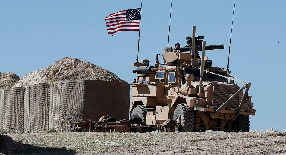 القوات الأمريكية في منبج السورية
