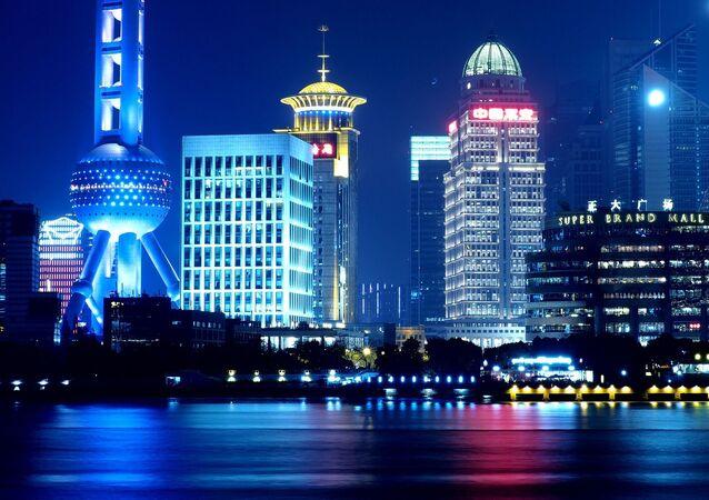 برج التلفزيون لؤلؤة الشرق في شنغهاي، الصين