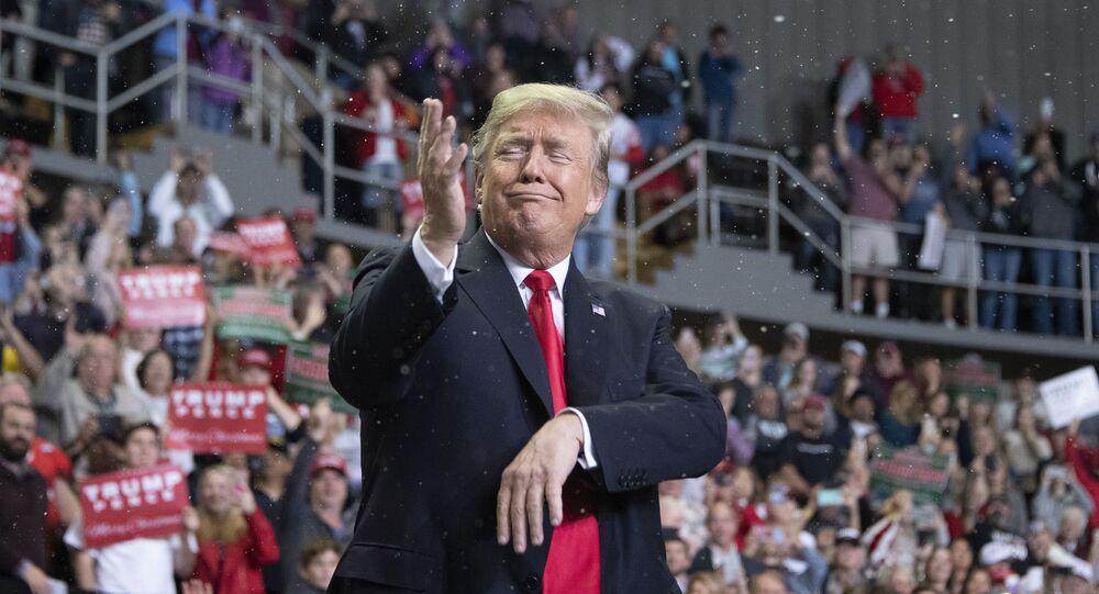 الرئيس الأمريكي دونالد ترامب في بيلوكسي، ولاية ميسيسيبي، 26 نوفمبر/ تشرين الثاني 2018