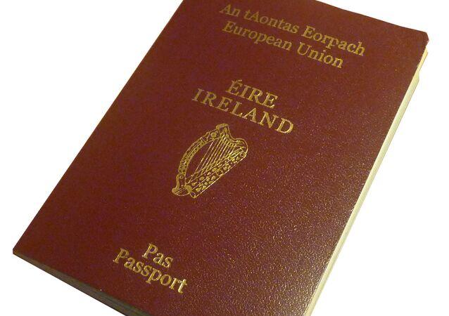 جواز سفر إيرلندي