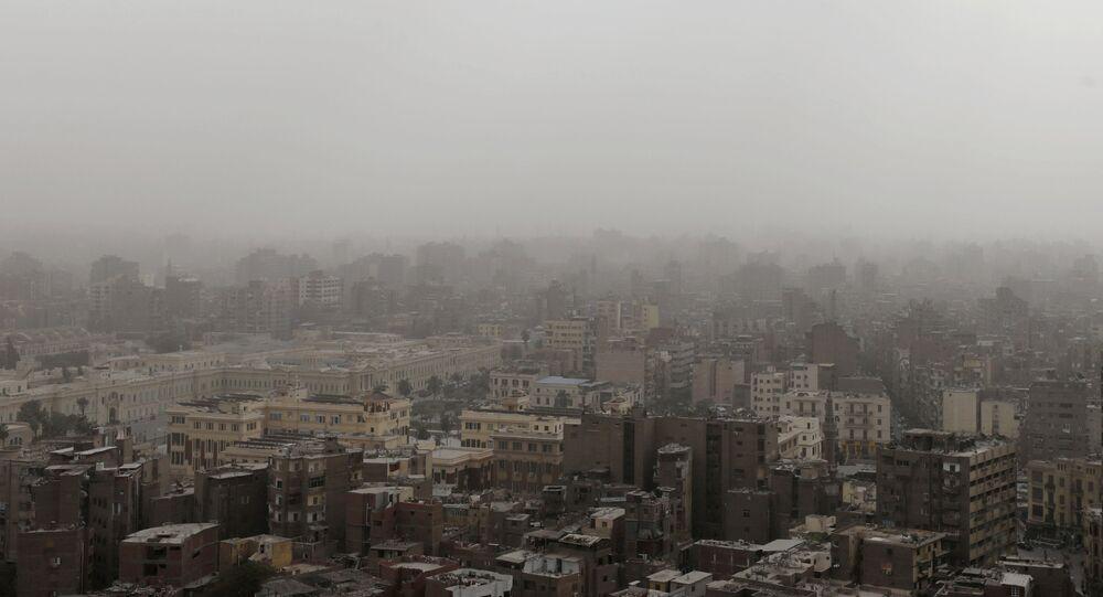 مظهر عام للمباني في القاهرة، 13 يناير/كانون الثاني 2019