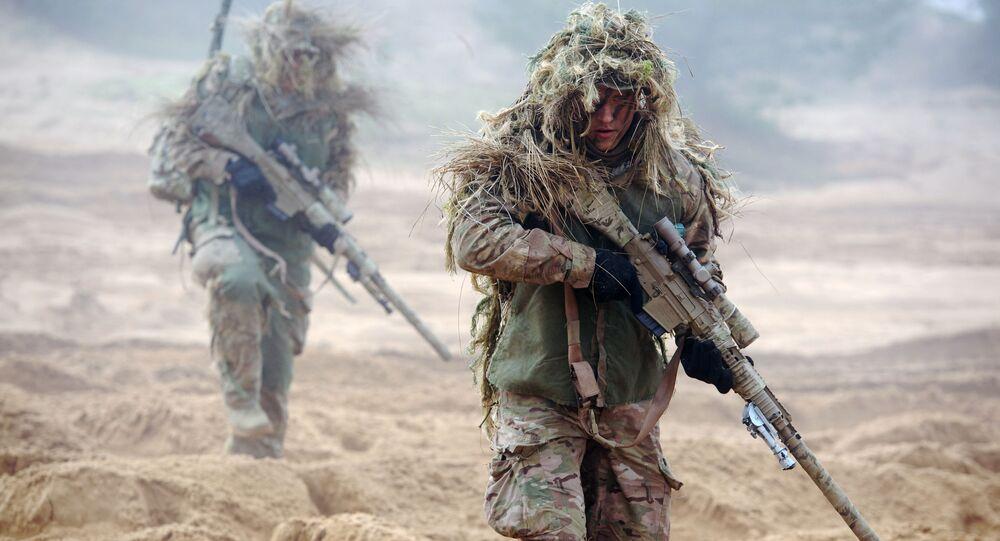عسكريو الناتو في لاتفيا