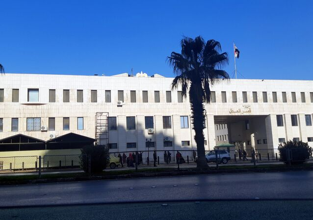 مبنى وزارة العدل وقصر العدل في سوريا