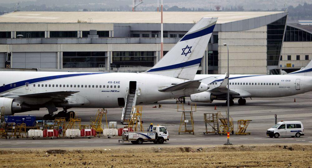 مطار بن غوريون الدولي في تل أبيب، إسرائيل 21 أبريل/ نيسان 2013