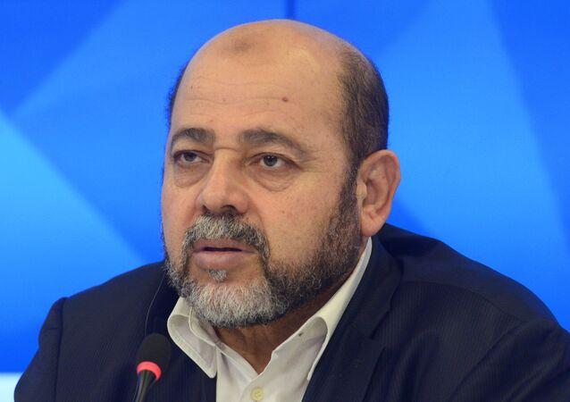 عضو المكتب السياسي للحركة ومسئول العلاقات الخارجية فيها موسى أبو مرزوق