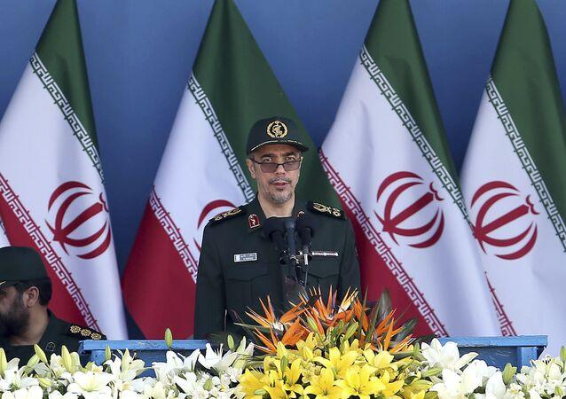 رئيس هيئة الأركان العامة للقوات المسلحة اللواء محمد باقري