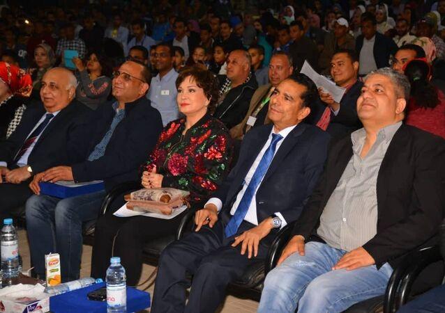 مهرجان الاقصر للسينما الافريقية بمحافظة قنا وتكريم الفنانة المصرية لبلية