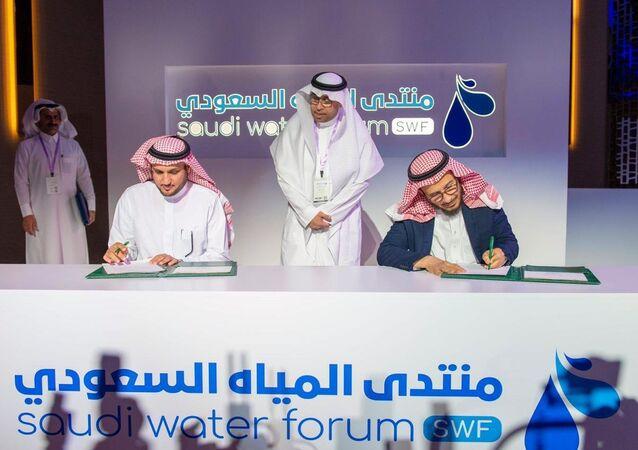 اتفاقيات في تحلية المياه في السعودية