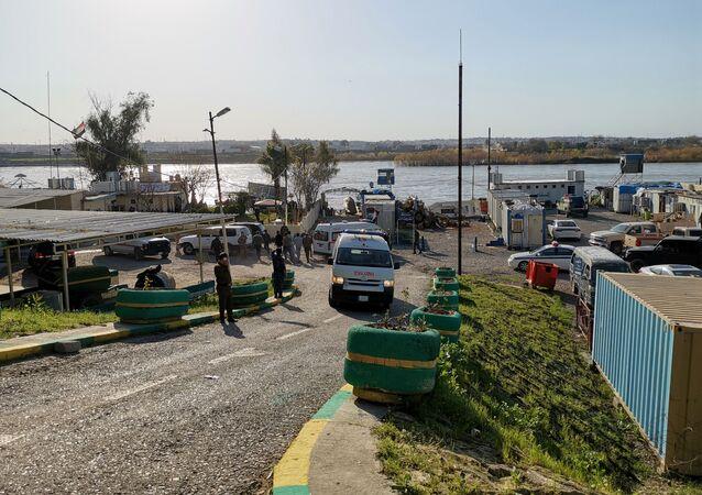 غرق عبارة في الموصل في العراق