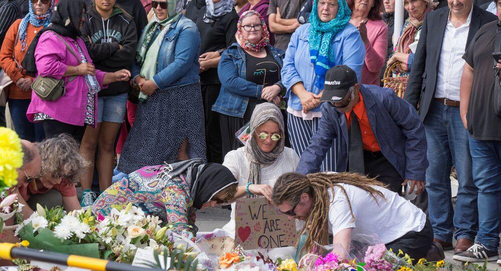 التضامن مع ضحايا نيوزيلندا