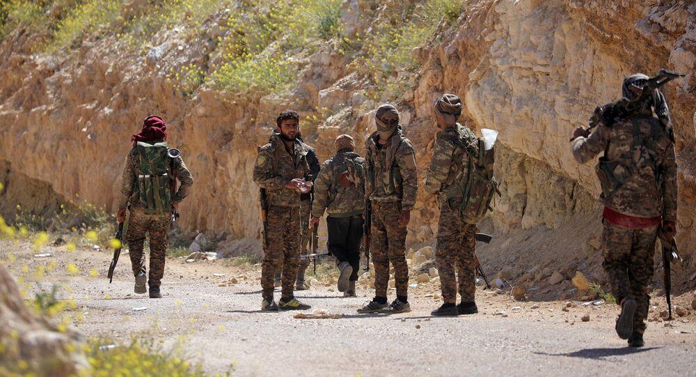 قوات سوريا الديمقراطية في الباغوز