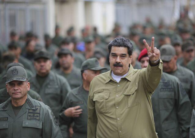 الرئيس الفنزويلي نيكولاس مادورو