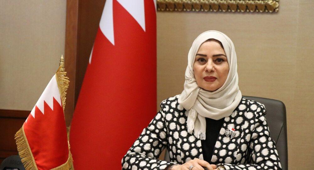 رئيسة مجلس النواب البحريني فوزية زينل