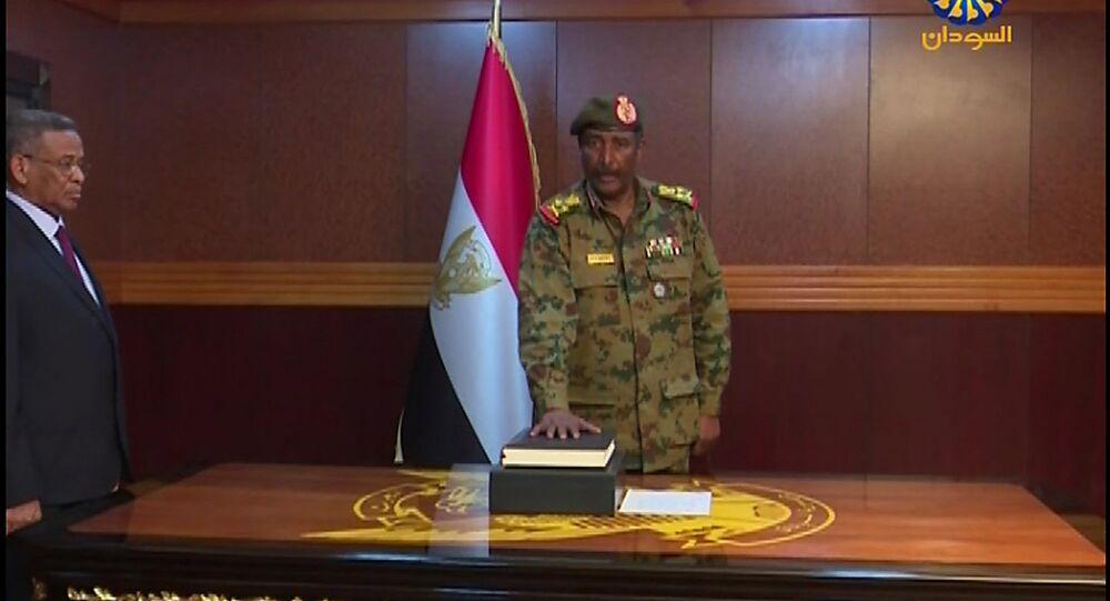 رئيس المجلس العسكري الانتقالي السوداني عبد الفتاح برهان
