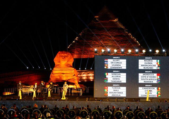 حفل قرعة كأس الأمم الأفريقية مصر 2019