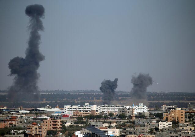 القصف الإسرائيلي على قطاع غزة