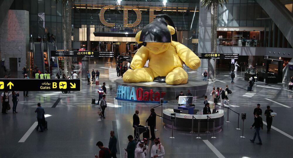 مطار حمد الدولي في الدوحة، قطر