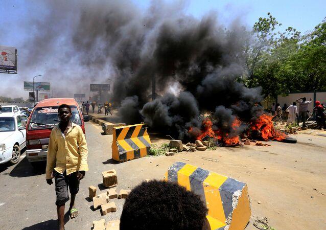 اعتصامات السودان