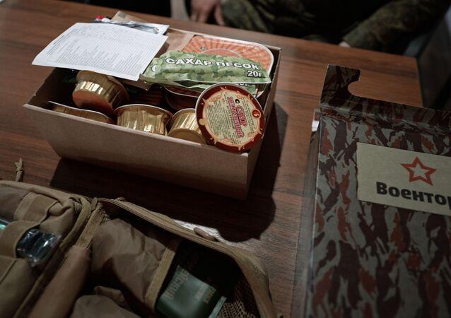 وجبة الجنود الروس