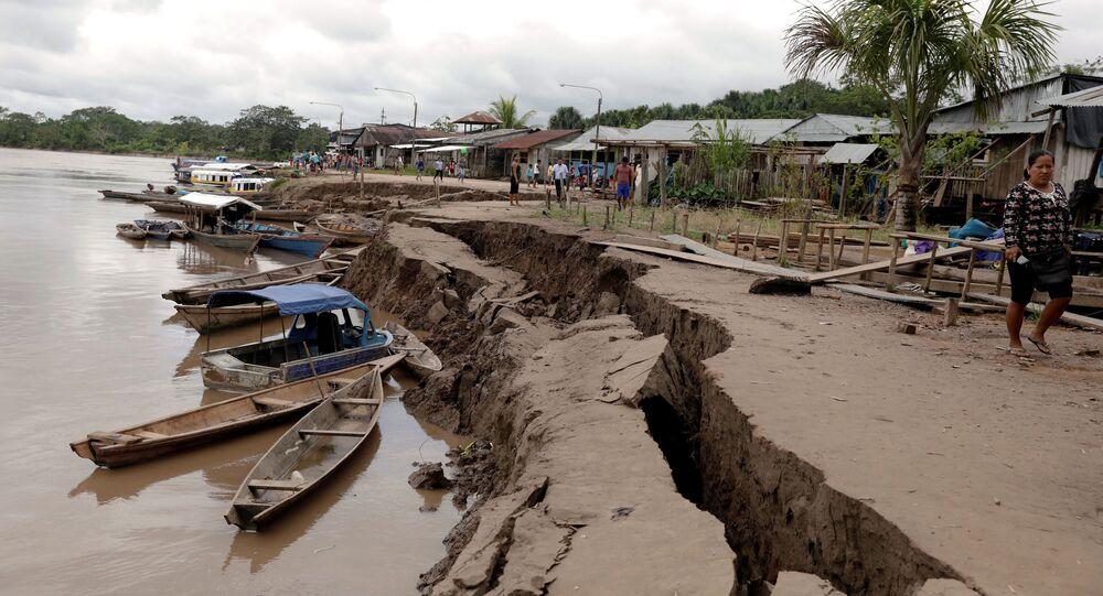 تداعيات زلزال في بيرو، 26 مايو/ أيار 2019