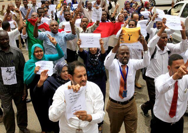 إضراب السودان