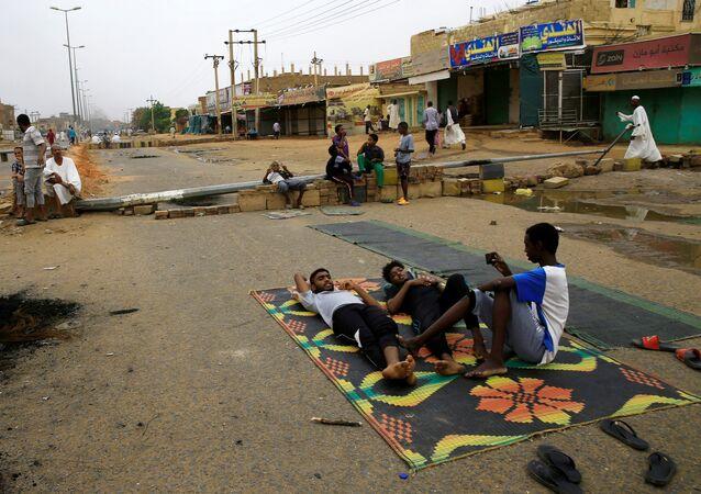 اعتصام السودان