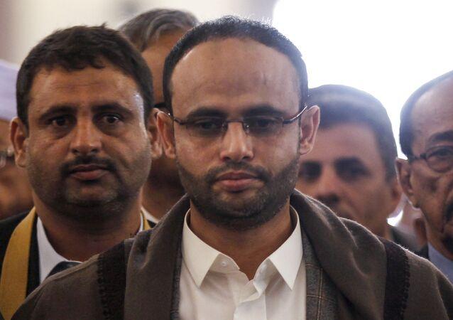رئيس المجلس السياسي الأعلى التابع لجماعة أنصار الله في اليمن مهدي المشاط