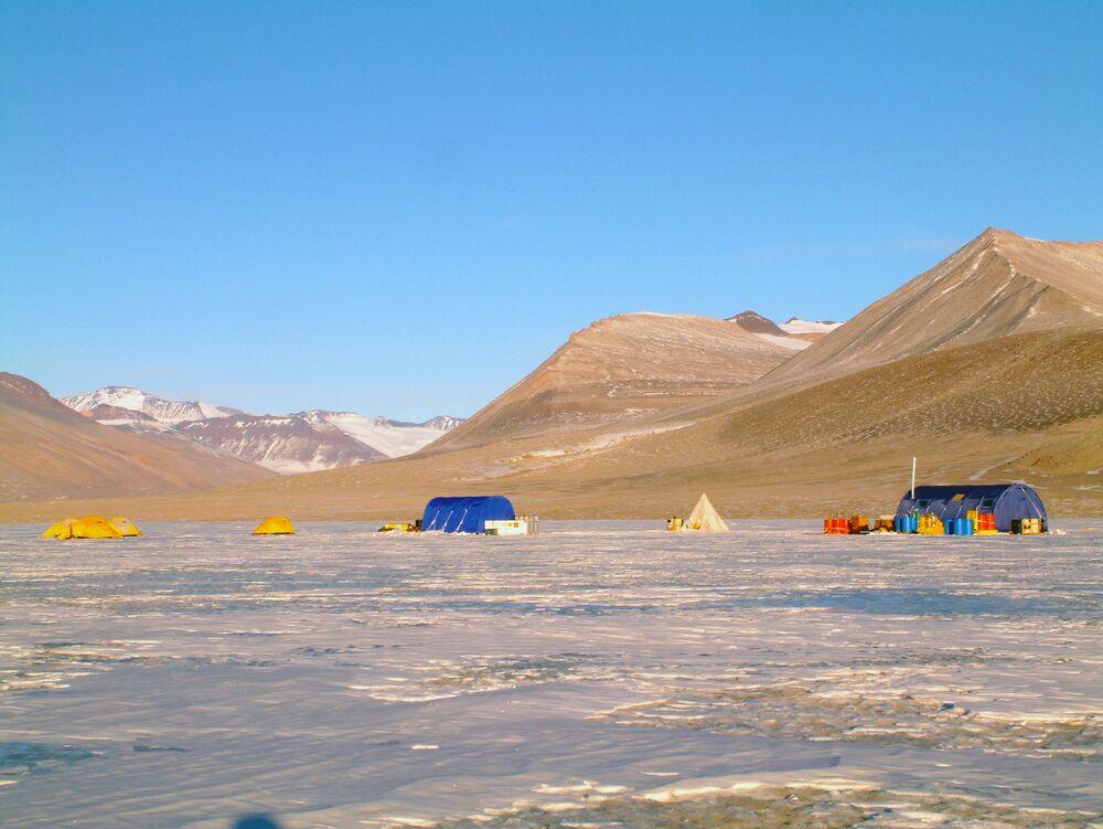 وديان ماكموردو الجافة، القطب الجنوبي
