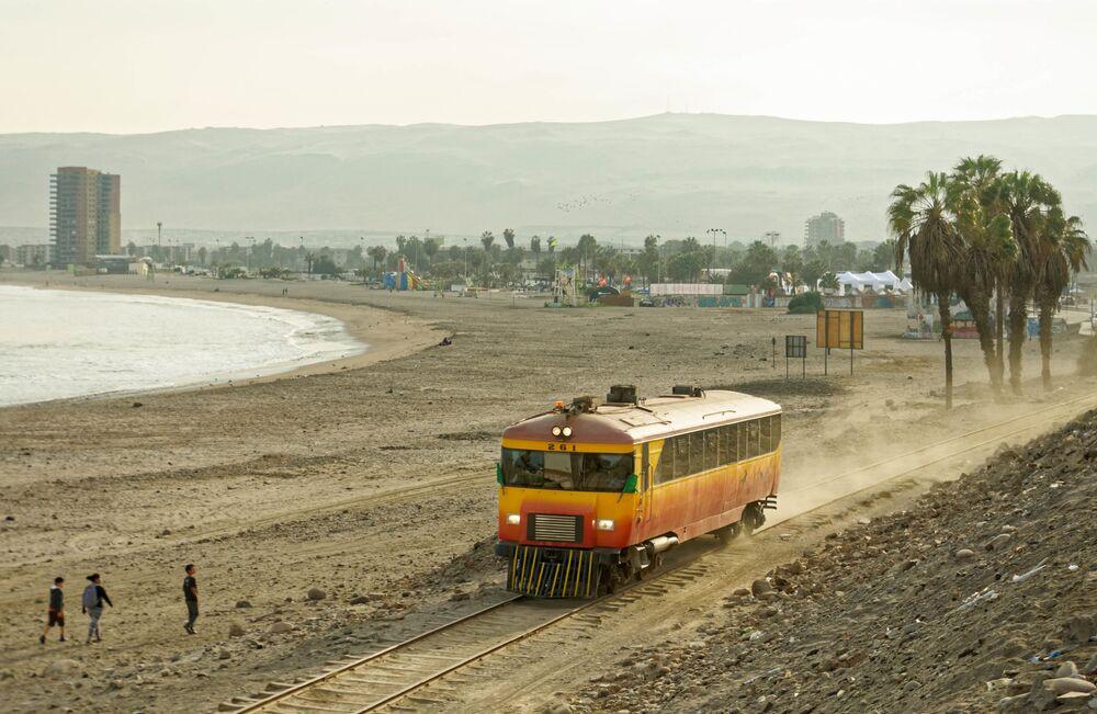 شاطئ تشينشورو في شيلي