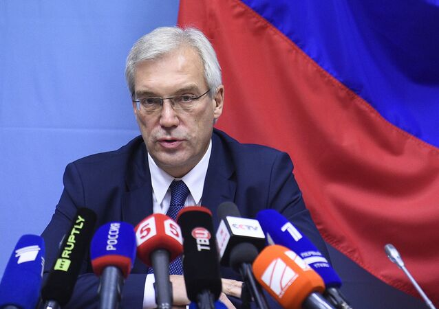 نائب وزير الخارجية الروسي، ألكسندر غروشكو