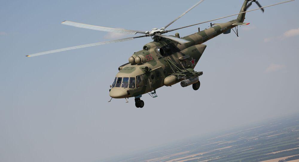 القوات الجوية، الجيش الروسي - المناوارات التكتيكية في كراسنودارسكي كراي (إقليم كراسنودار)، جنوب روسيا